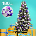 クリスマスツリー 180cm LEDライト クリスマス イル...