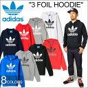 "【SALE】adidas Originals アディダス オリジナルス""3 FOIL HOODIE""スリー フォイル フーディー スウェット プルオーバー パー..."