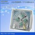 リズム時計 キャラクタークロック からくり置時計/アナと雪の女王 03白(白) 4RH784MA03