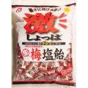 【同梱・代引き不可】桃太郎製菓 激しょっぱ生梅塩飴 1kg×10袋セット