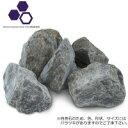 其它 - 【同梱・代引き不可】NXstyle ガーデニング用天然石 グランドロック ロックブラック C-BK2 約20kg 9900623