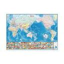 いろいろ書ける!消せる! 世界地図 073102