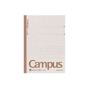 (まとめ)キャンパスノート セミB5 U罫 30枚 180冊 ノート・ふせん・紙製品 ノート セミB5・B5