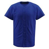 デサント(DESCENTE) フルオープンシャツ (野球) DB1010 ロイヤル XOの画像