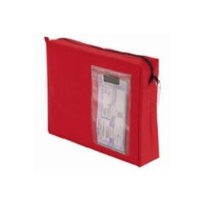 (業務用20セット) クルーズ メールバック MB-500RE A4 マチ付 レッド 包装用品 メールバッグ 事務用品 まとめお得セット