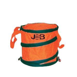 (まとめ)現場用折りたたみ式ゴミ箱 【Sサイズ×5セット】 ジョブマスター JGB-S