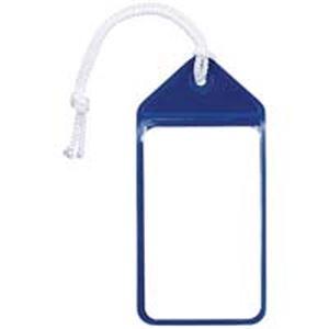 (業務用100セット) 共栄プラスチック ネームタッグ旅行名札 C-80-5-B ブルー 5枚 整理収納用品 名札 事務用品 まとめお得セット