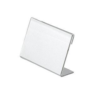 (業務用200セット) プラス L型カード立 CT-107L 店舗用品 カード立て 事務用品 まとめお得セット