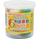 (まとめ)アーテック 6色小麦粉ねんど 【×40セット】