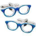 SWANK(スワンク) 日本製 眼鏡のカフス 青