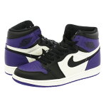 NIKE AIR JORDAN 1 RETRO HIGH OG ナイキ エア ジョーダン 1 レトロ ハイ OG COURT PURPLE/BLACK/SAIL 555088-501