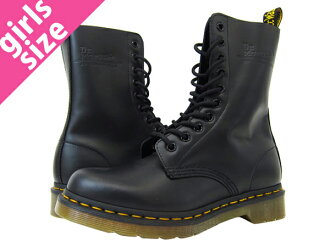 Dr.Martens WMNS 10 EYE BOOT ORIGINALS 1490 R11858001 Dr. Martens 10 eyelet boots originals BLACK