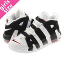 NIKE AIR MORE UPTEMPO GS ナイキ モア アップ テンポ GS WHITE/BLACK/VARSITY RED