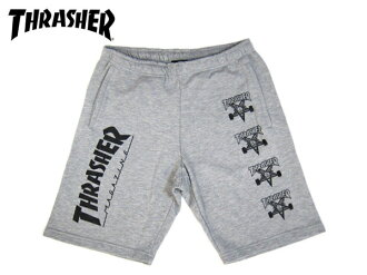 THRASHER SWEAT SHORTS slasher sweat shorts GREY