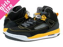 [20%OFF] [child size ♪】 NIKE AIR JORDAN SPIZ'IKE GS ナイキエアジョーダンスパイズイック GS BLACK/UNIVERSITY GOLD/DARK GREY of the woman of the extreme popularity]