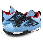 NIKE AIR JORDAN 4 RETRO  ナイキ エアージョーダン 4 レトロ トラヴィス スコット UNIVERSITY BLUE/VARSITY RED/BLACK 308497-406