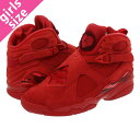 NIKE WMNS AIR JORDAN 8 RETRO VDAY 【VALENTINE'S DAY】 ナイキ ウィメンズ エア ジョーダン 8 レトロ GYM RED/EMBER GLOW/TEAM RED aq2449-614-l