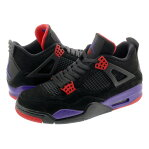 NIKE AIR JORDAN 4 RETRO  ナイキ エア ジョーダン 4 レトロ NRG BLACK/PURPLE/RED aq3816-065