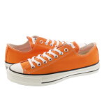 CONVERSE CANVAS ALL STAR J OX ORANGE  コンバース オールスター J OX ORANGE 31301650