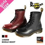 【待望のLady''sサイズ】 Dr.Martens 8HOLE BOOT 1460W ドクターマーチン レディース 8ホール ブーツ BLACK(11821006)/ CHERR