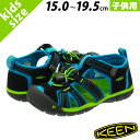 KEEN KIDS SEACAMP II CNX キーン キッズ シーキャンプ 2 CNX BLACK/BLUE DANUBE 1016426