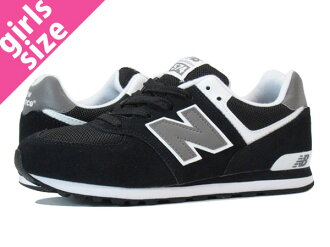 NEW BALANCE KL574SKG BLACK/WHITE/GREY