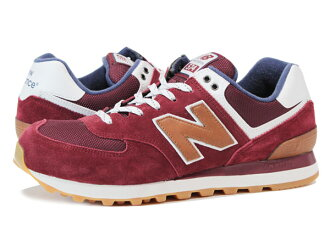 NEW BALANCE ML574CAO-new balance ML574CAO BURGUNDY/BROWN
