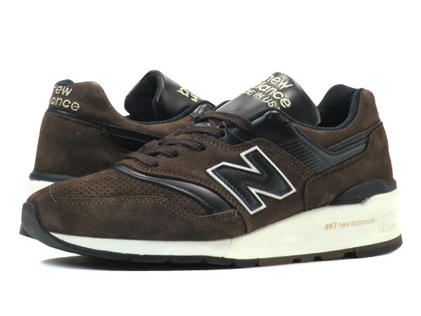 NEW BALANCE ML997DBR 【HORWEEN LEATHER】【MADE IN U.S.A.】 【Dワイズ】 ニューバランス ML 997 DBR BROWN/BLACK