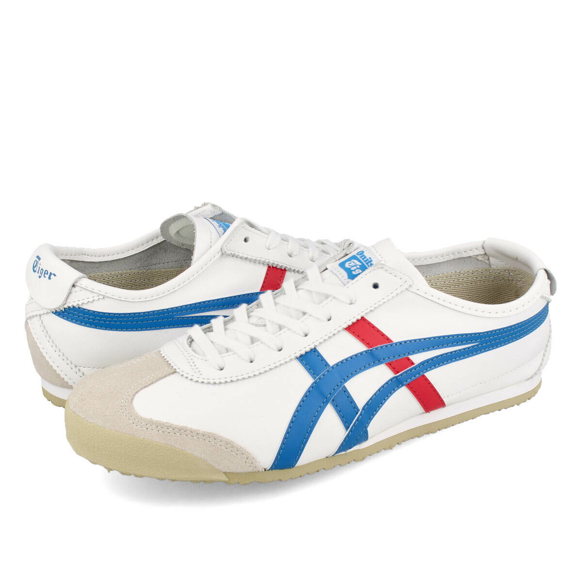 select shop lowtex rakuten global market onitsuka tiger mexico 66 white blue red. Black Bedroom Furniture Sets. Home Design Ideas