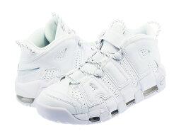 NIKE AIR MORE UPTEMPO 96 【WHITE ON WHITE】 ナイキ モア アップ テンポ 96 WHITE/WHITE/WHITE