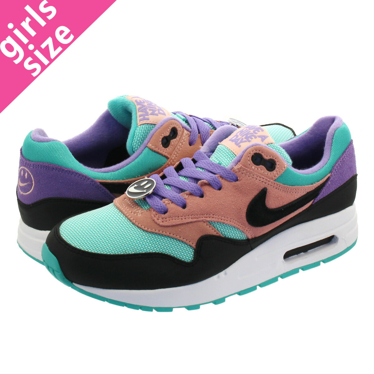 NIKE AIR MAX 1 NK DAY GS 【HAVE A NIKE DAY】 ナイキ エア マックス 1 NK DAY GS BLACK/WHITE/SPACE PURPLE at8131-001