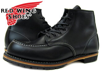 REDWING BECKMAN BOOT CLASSIC DRESS MOC TOE BLACK 9015