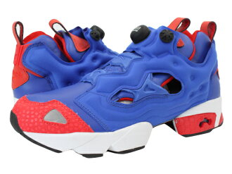 Reebok PUMP FURY Reebok pump fury TETRA BLUE/EXCELLENT RED