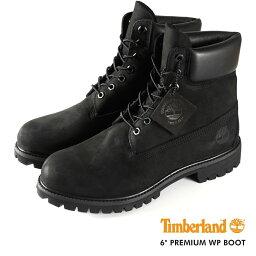 TIMBERLAND 6inch BOOT ティンバーランド 6インチ ブーツ BLACK 黒 【メンズ】