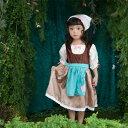 【ハロウィン コスプレ】<変身前のシンデレラ ワンピースドレス>【ハロウィン 衣装 仮装 子供 コス...