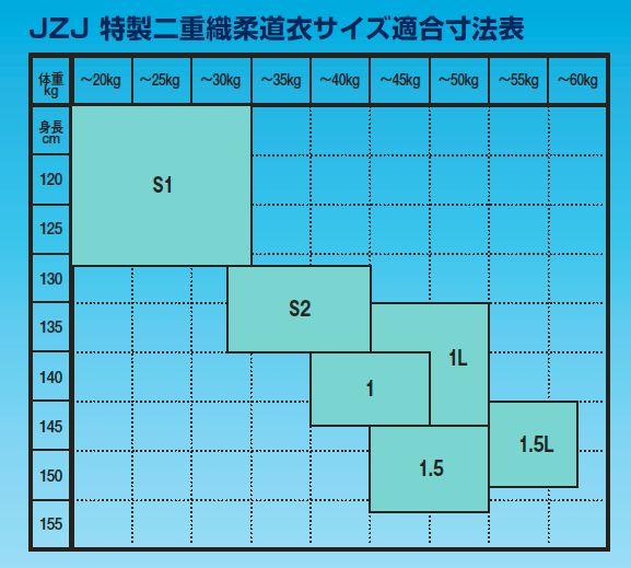 【サイズ S1〜1.5L号】九櫻(九桜) 柔道...の紹介画像2