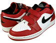 NIKE AIR JORDAN 1 VELCRO LOW wht/blk-v.red