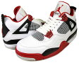 ★期間限定特別価格★NIKE AIR JORDAN 4 RETRO wht/v.red-blk
