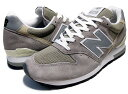 �j���[�o�����X NEW BALANCE M996GY MADE IN U.S.A�y�j���[�o�����X�@�O