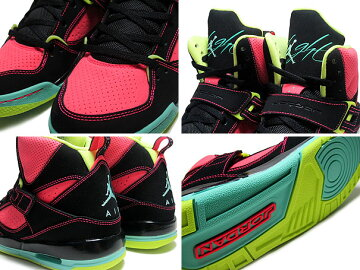 NIKEGIRLSJORDANFLIGHT45HIGHGSblk/g.glow-a.red-vlt