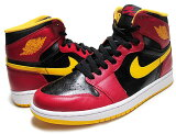 "NIKE AIR JORDAN 1 RETRO HI OG ""Highlight Reel"" ""Atlanta Hawks"" blk/g.red-u.gold"