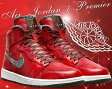 ☆JORDAN期間限定プライスダウン☆NIKE AIR JORDAN 1 RETRO HI PREMIER v.red/dark.army-wht