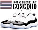 "お得な割引クーポン発行中!!NIKE AIR JORDAN 11 RETRO LOW ""CONCORD"" wht/blk-dark concord"