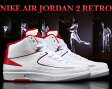 ☆期間限定特別価格☆NIKE AIR JORDAN 2 RETRO wht/blk-v.red-c.gry