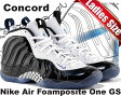 "☆期間限定プライスダウン☆NIKE AIR FOAMPOSITE ONE GS ""Concord"" blk/wht-g.royal"