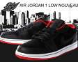 NIKE AIR JORDAN 1 LOW NOUVEAU blk/blk-g.red