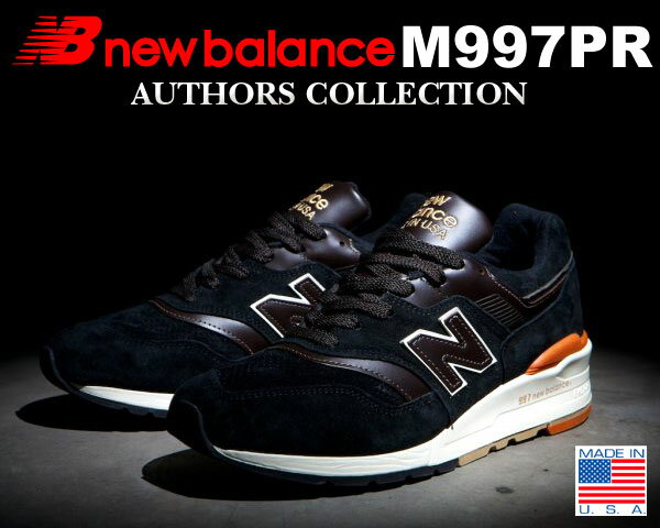 "NEW BALANCE M997PR ""AUTHORS COLLECTION"" MADE IN U.S.A."