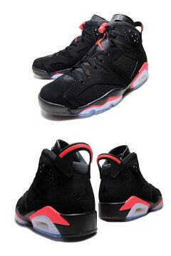 "NIKEAIRJORDAN6RETRO""BLACKINFRARED""blk/infrared23-blk�ڥ��硼����6�֥�å�������ե��åɥ֥륺���顼����̵����"