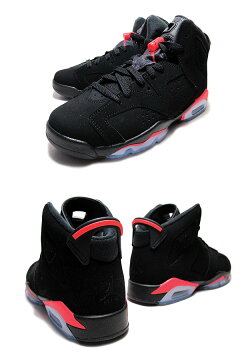 "NIKEAIRJORDAN6RETROGS""BLACKINFRARED""blk/infrared23-blk"
