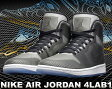 【送料無料 ナイキ ジョーダン】NIKE AIR JORDAN 4LAB1 blk/reflect slv-wht